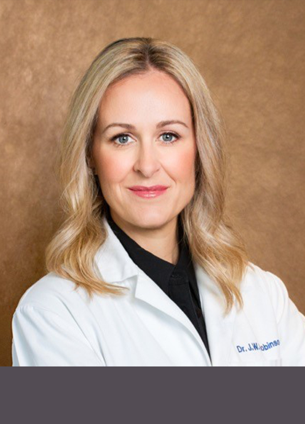 Dr. Jennifer W. Robinson<br /> Certified Plastic Surgeon