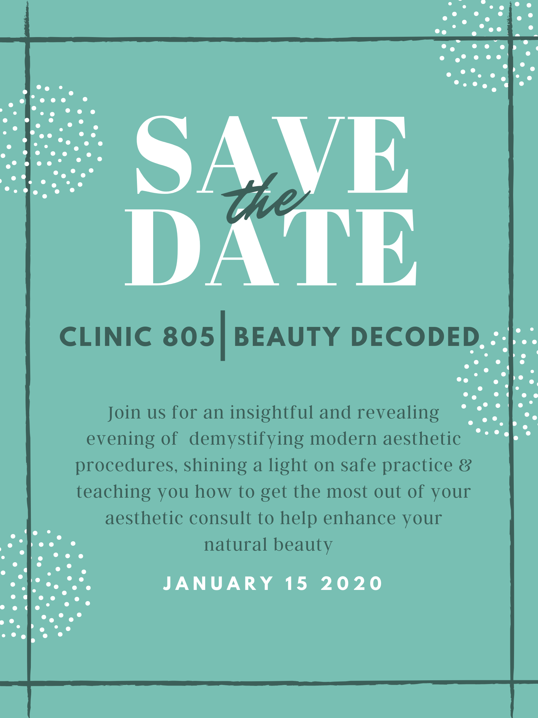 copy of clinic 805 beauty decoded
